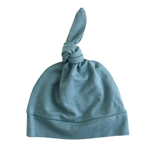 jade newborn knotted hat