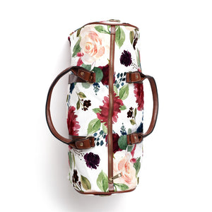 Kelsie's Twilight Floral Travel Bag