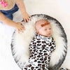 leopard swaddle baby blanket baby name