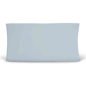 Color Story | Solid Light Dusty Blue Knit Changing Pad Cover