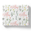 Lilly's Wildflower Leaves Baby Bedding