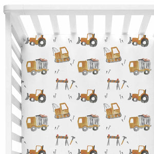Little Digger Crib Sheet