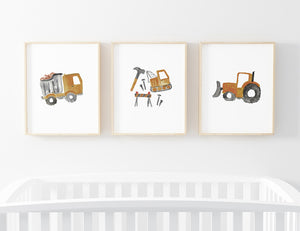 Little Digger Bundled Art Prints