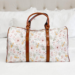 Maeve Mauve Floral Overnight Bag