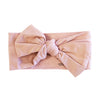 mauve bow headband for newborn