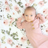 Millie's Dusty Rose Garden Oversized Swaddle Blanket*