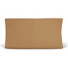 Solid Mustard Bamboo Knit Changing Pad Cover