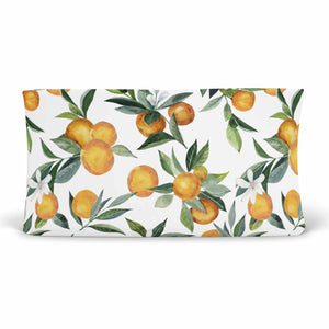 Orange Blossoms Changing Pad Cover
