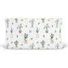 parker's potted plant stretchy knit changing pad cover