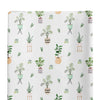 parker's potted plant knit changing pad cover