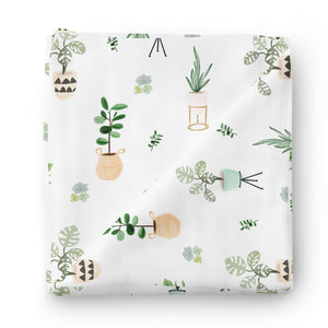 Parker's Potted Plant Oversized Swaddle Blanket