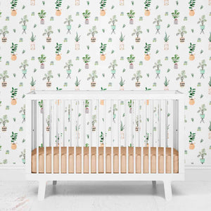 parker's potted plant removable wallpaper