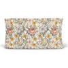 peyton's vintage floral stretchy knit changing pad cover