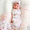 rosie rose personalized swaddle
