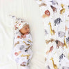 Safari Party Oversized Swaddle Blanket