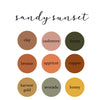 Sandy Sunset Personalized Color Blanket