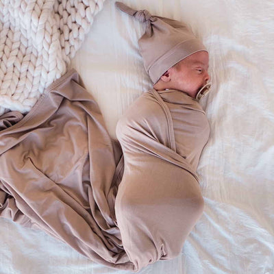 stone swaddle bamboo solid knit