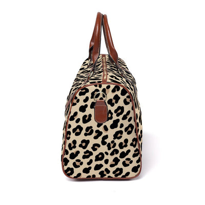 Lila's Leopard Overnight Bag