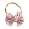 tiny hearts bow headband