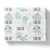 Under the Sea Personalized Toddler Blanket