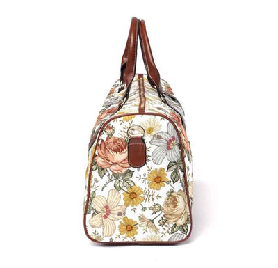 peyton's vintage floral travel bag