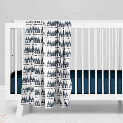 Wilder's Forest Trees Baby Bedding for your Woodland Nursery