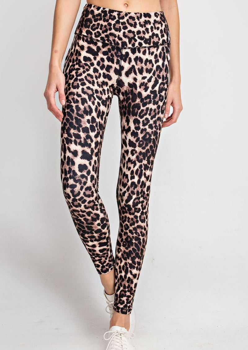 Cheetah Leggings Plus