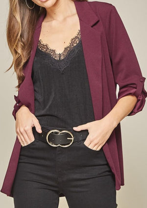 9 to 5 Blazer Plus | Wine