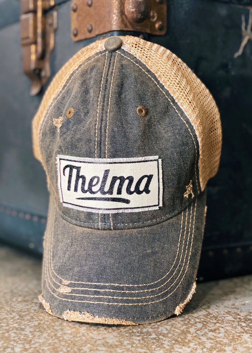 Thelma Distressed Cap