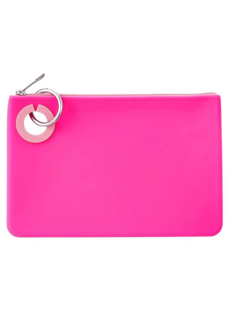 Silicone Pouch | Tickled Pink