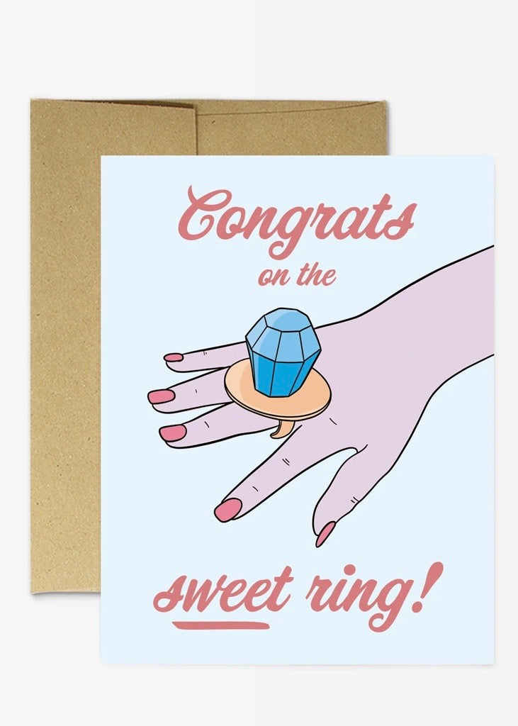 Sweet Ring Card