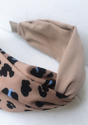 Everly Headband | Tan