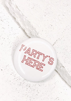 Party's Here Button