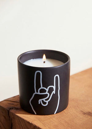Rock On Candle