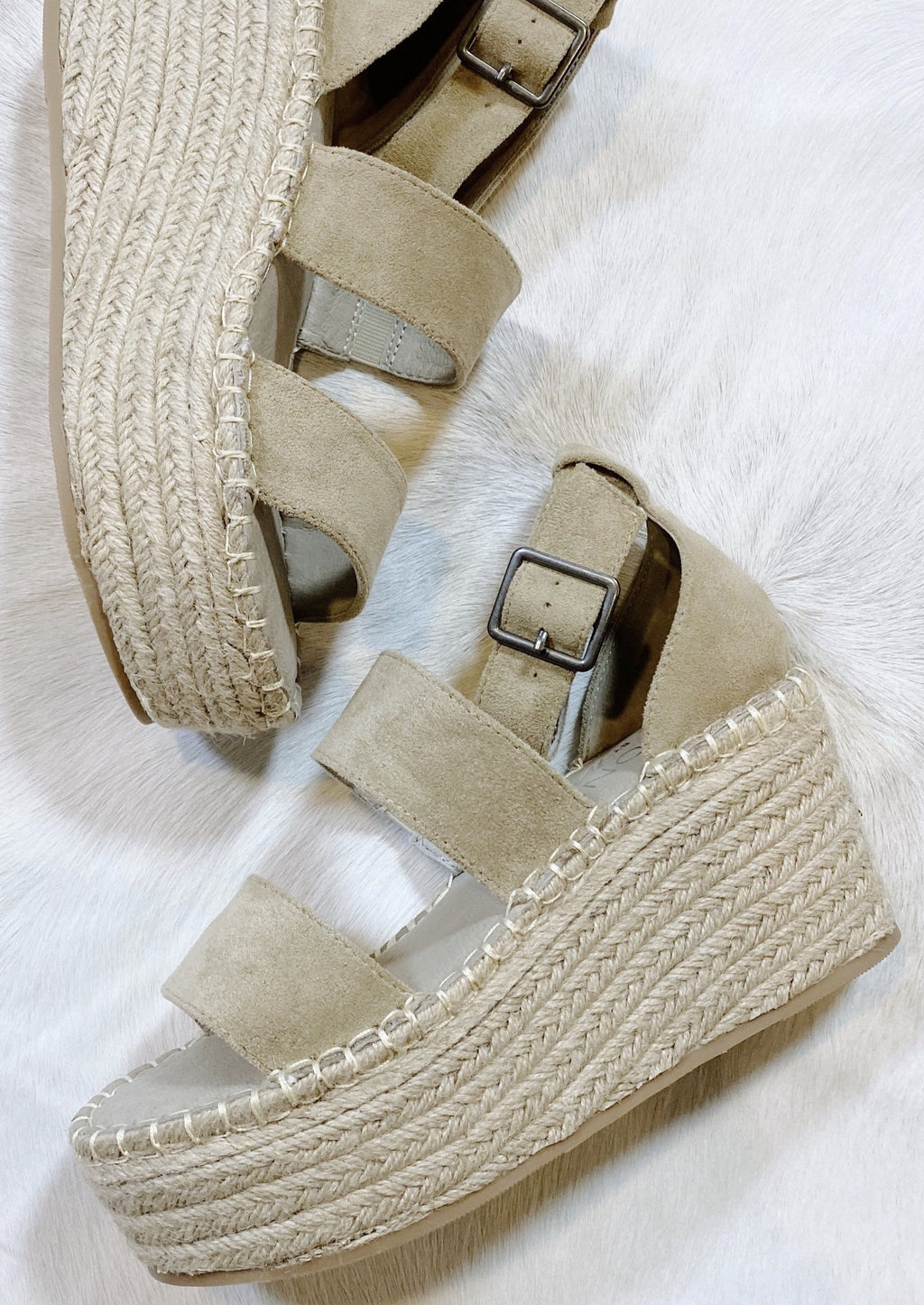 Soire Platform Wedge | Natural