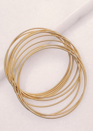 Guitar String Bracelet | Gold