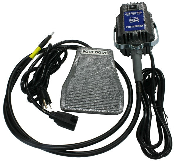 Foredom™ SR-SCT 1/6 hp Motor with Foot Pedal - Equine Dental Instruments