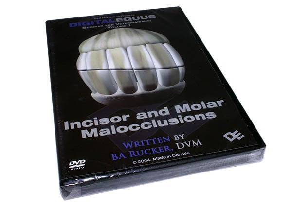 Incisor & Molar Malocclusions - DVD - Equine Dental Instruments