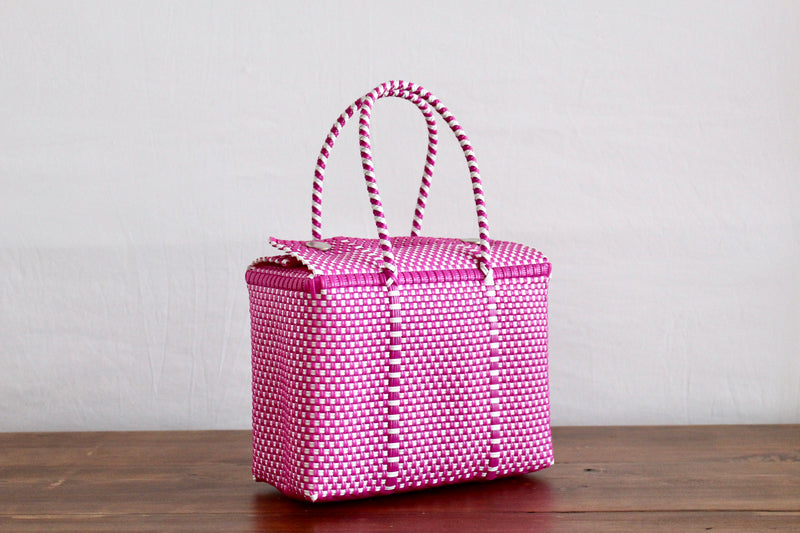 Hot Pink & White MexiMexi Handbag