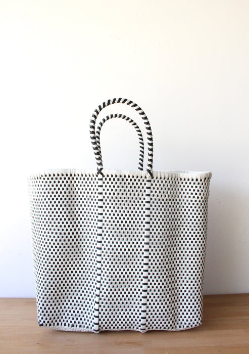 White & Black MexiMexi Tote Bag