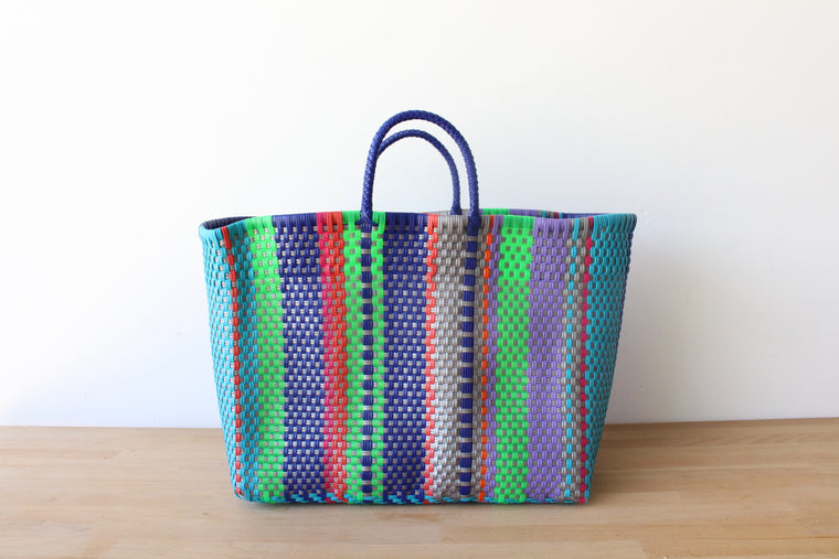 Colorful Mexican Tote Bag