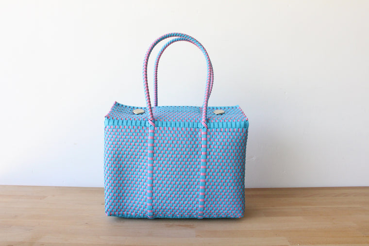 Blue & Pink MexiMexi Basket