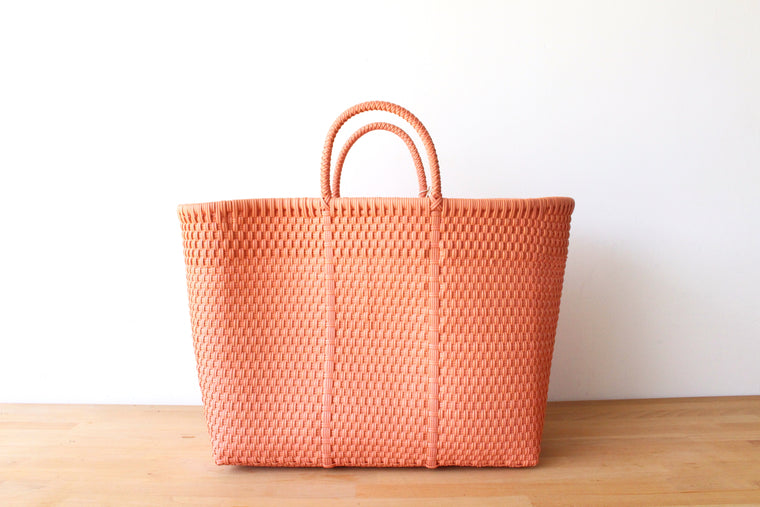 Coral Mexican Tote Bag