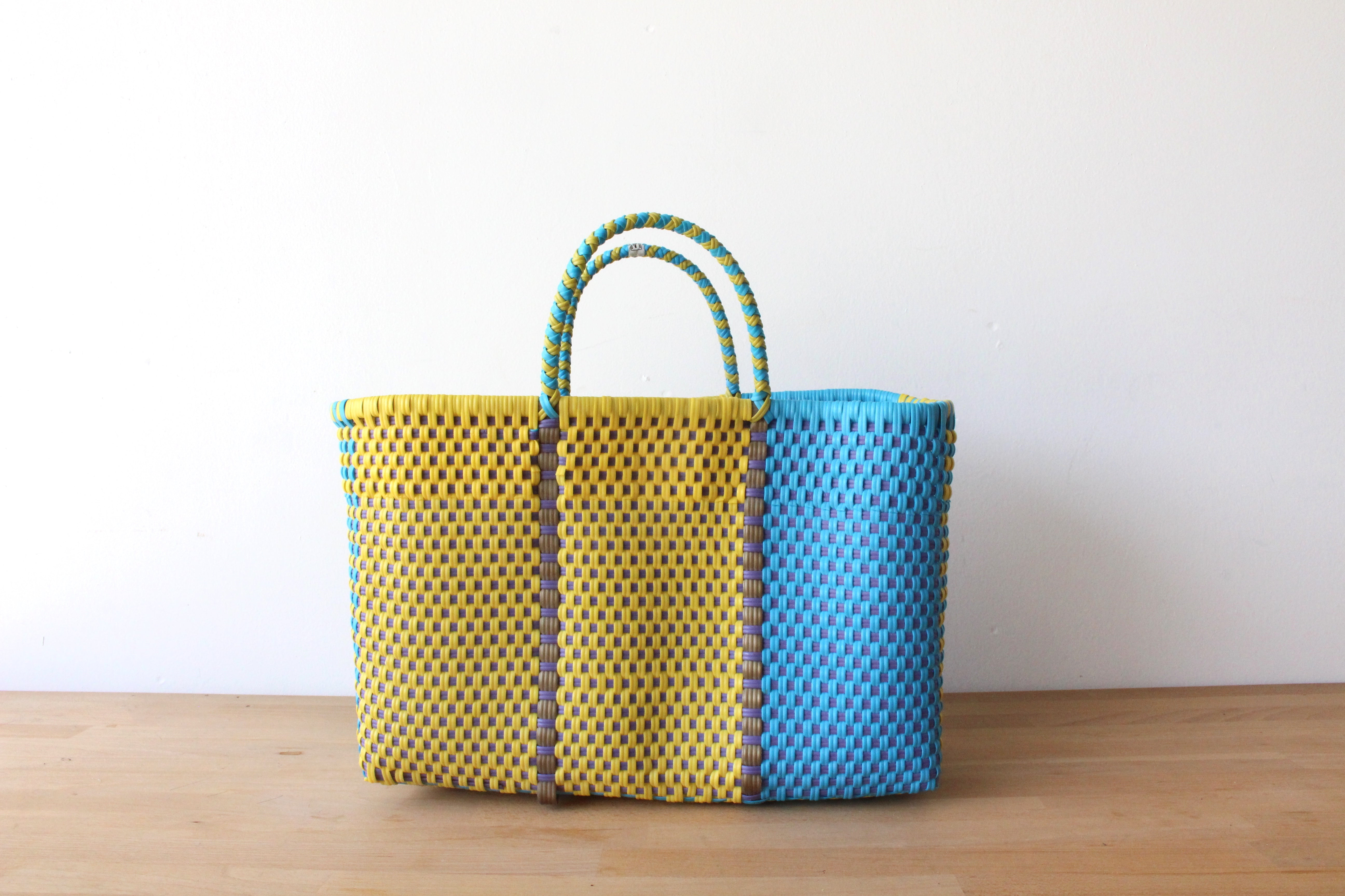 Blue & Yellow MexiMexi Tote Bag