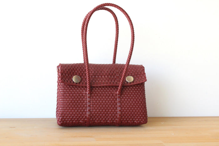Burgundy MexiMexi Handbag