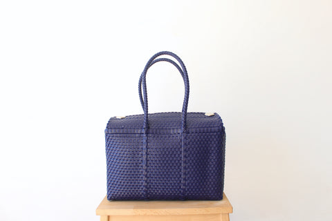 Dark Purple MexiMexi Handbag