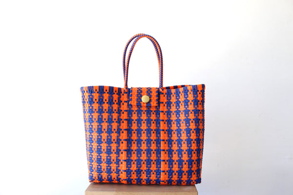 Tropical Mexican Woven Tote Bag