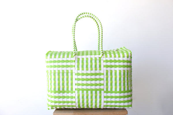 Lime & White MexiMexi Basket