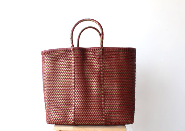 Azucena Mexican Woven Tote Bag