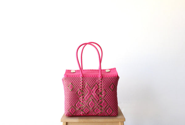 Hot Pink & Gold MexiMexi Handbag